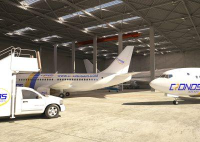 3. Hangar